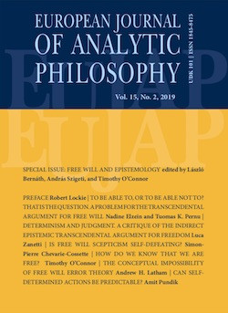 logo European Journal of Analytic Philosophy