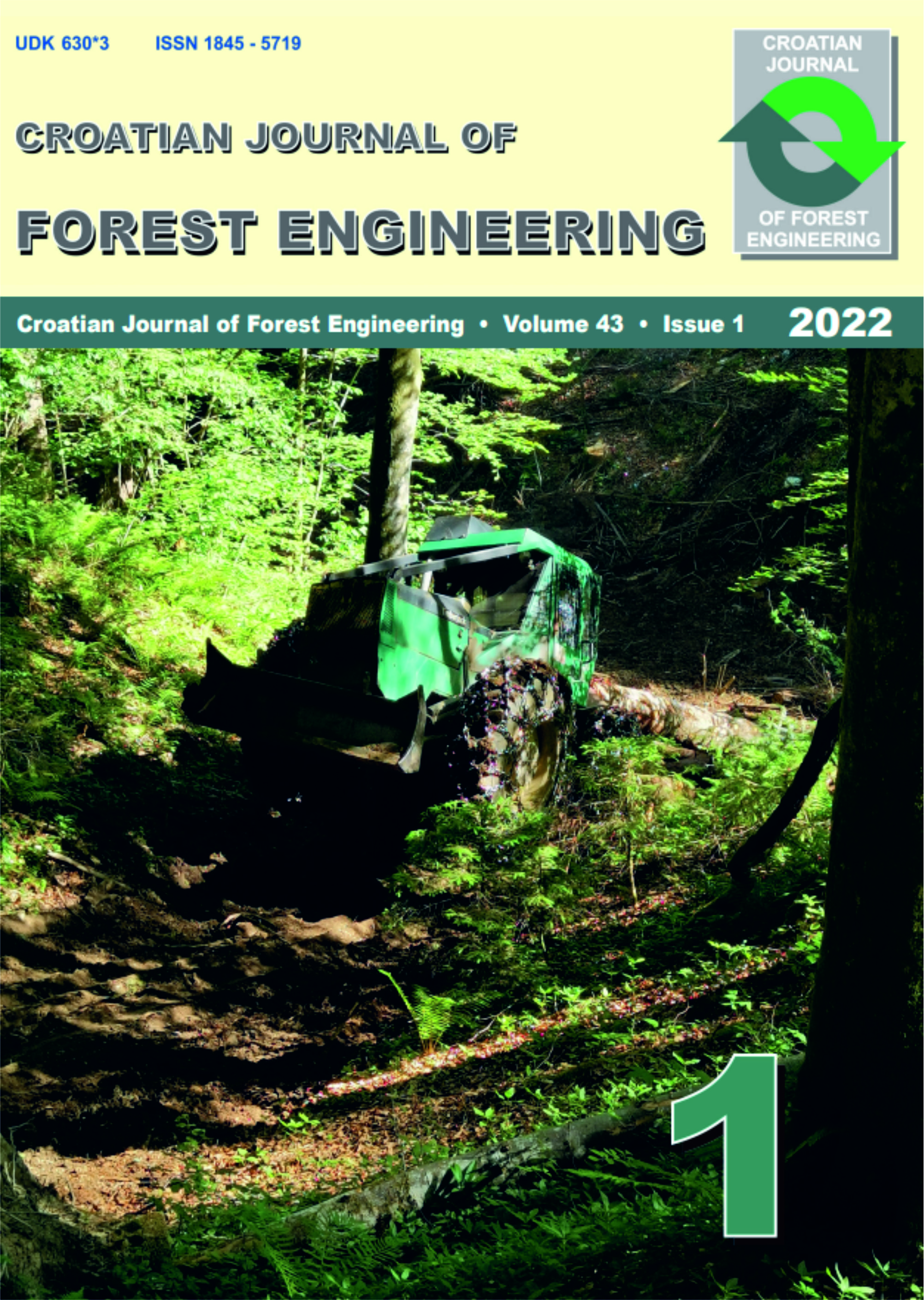 logo Croatian Journal of Forest Engineering