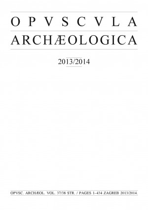logo Opuscula Archaeologica Papers of the Department of Archaeology