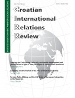 Croatian International Relations Review,Vol. 20 No. 70