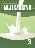 Mljekarstvo : journal for dairy production and processing improvement,Vol. 64 No. 3