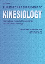 Kinesiology,Vol. 46 No. Supplement 1.