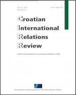 Croatian International Relations Review,Vol. 20 No. 71