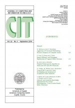 Journal of computing and information technology,Vol. 22 No. 3