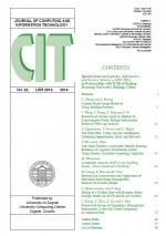 Journal of computing and information technology,Vol.22 No.LISS 2013