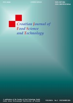 Croatian journal of food science and technology,Vol. 6 No. 2
