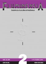 FLUMINENSIA : Journal for philological research,Vol. 26 No. 2