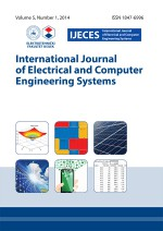 International journal of electrical and computer engineering systems,Vol. 5. No. 1.