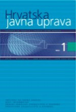 Croatian and comparative public administration : a journal for theory and practice of public administration,Vol. 10 No. 1