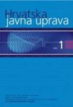 Croatian and comparative public administration : a journal for theory and practice of public administration,Vol. 9. No. 1.