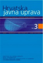 Croatian and comparative public administration : a journal for theory and practice of public administration,Vol. 6 No. 3