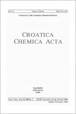 Croatica Chemica Acta,Vol. 69 No. 3