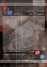 Croatian Journal of Education : Hrvatski časopis za odgoj i obrazovanje,Vol. 17 No. 1