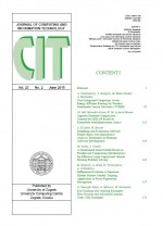 Journal of computing and information technology,Vol. 23 No. 2