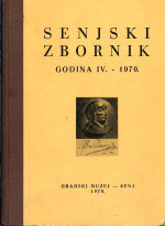 Senjer Jahrbuch : Beiträge zur Geographie, Ethnologie, Ökonomik, Geschichte und Kultur = The anthology of Senj : contributions to geography, ethnology, economy, history and culture,Vol. 4 No. 1