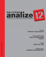 Političke analize,Vol. 3 No. 12
