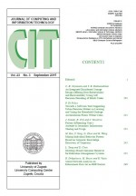 Journal of computing and information technology,Vol. 23 No. 3