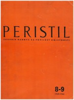 Peristil : Scholarly Journal of Art History,Vol. 8-9 No. 1
