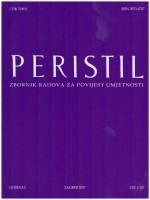 Peristil : Scholarly Journal of Art History,Vol. 50 No. 1