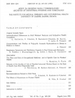 Archives of Industrial Hygiene and Toxicology,Vol. 43 No. 2
