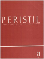 Peristil : Scholarly Journal of Art History,Vol. 21 No. 1