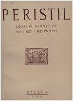 Peristil : Scholarly Journal of Art History,Vol. 3 No. 1