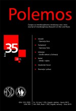 Polemos : Journal of Interdisciplinary Research on War and Peace,Vol. XVIII No. 35