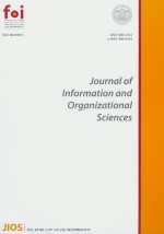 Journal of Information and Organizational Sciences,Vol. 39 No. 2