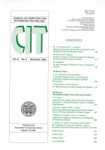 Journal of computing and information technology,Vol. 6 No. 4