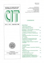 Journal of computing and information technology,Vol.6 No.3