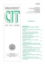 Journal of computing and information technology,Vol.6 No.2