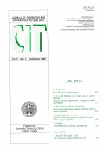 Journal of computing and information technology,Vol. 5 No. 3