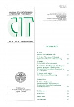 Journal of computing and information technology,Vol. 4 No. 4