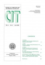 Journal of computing and information technology,Vol. 3 No. 2