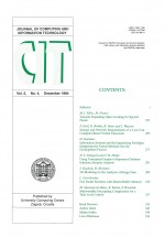 Journal of computing and information technology,Vol. 2 No. 4