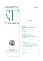 Journal of computing and information technology,Vol. 2 No. 3