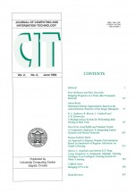 Journal of computing and information technology,Vol. 2 No. 2