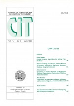 Journal of computing and information technology,Vol.1 No.2
