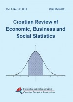 Croatian Review of Economic, Business and Social Statistics,Vol. 1 No. 1-2