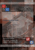 Croatian Journal of Education : Hrvatski časopis za odgoj i obrazovanje,Vol. 17 No. Sp.Ed.4