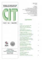 Journal of computing and information technology,Vol. 24 No. 1