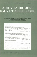 Archives of Industrial Hygiene and Toxicology,Vol. 36 No. 1