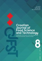 Croatian journal of food science and technology,Vol. 8 No. 1