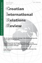 Croatian International Relations Review,Vol. 22 No. 75