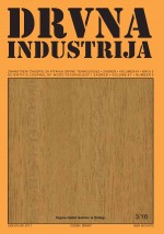 Drvna industrija : Scientific journal of wood technology,Vol.67 No.3
