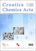 Croatica Chemica Acta,Vol. 89 No. 3