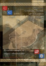 Croatian Journal of Education : Hrvatski časopis za odgoj i obrazovanje,Vol. 18 No. 3