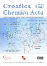 Croatica Chemica Acta,Vol.89 No.4