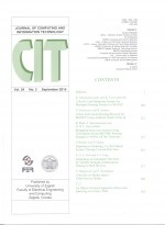 Journal of computing and information technology,Vol. 24 No. 3