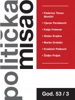 Croatian Political Science Review,Vol. 53 No. 3